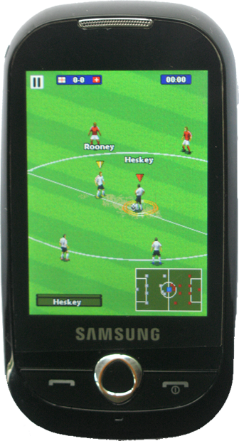Real Soccer 2011 - Full Touch Screen JAVA Game - 230x320 - Samsunf GT